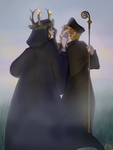 The Witch and the Deacon by kimitama