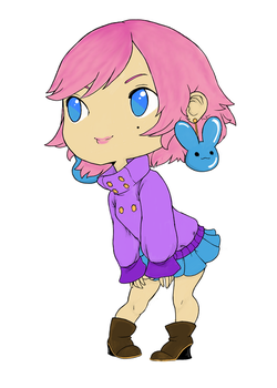 Colored Chibi Line Art by nofoolin