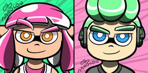 Splatoon 2: F2U Icons by Mano-Lon
