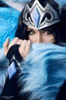Ahri midnight cosplay by Bahamut95