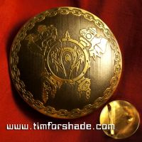Horde Orc Warcraft Belt brass buckle vol.1 by TimforShade