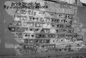Brick Brush set by JustinByerline-Stock