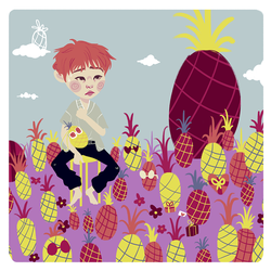 Onew..and pineapples by TheLobata