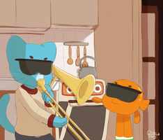 When Nicole Isn't Home by Sunnynoga