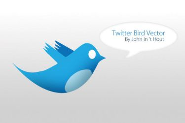 Bird of twitter vectorized by thexje