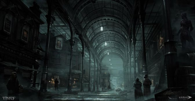 Thief - Lower Covered Market by MatLatArt