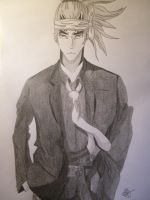 Bleach: Renji Abarai by Grimmichou
