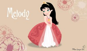Disney Princess Young ~ Melody by miss-lollyx-33