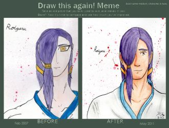 Before and After - Roiyaru by Eli-Hinze