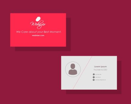 Daily ui 003 - Bussiness card by skypurifier