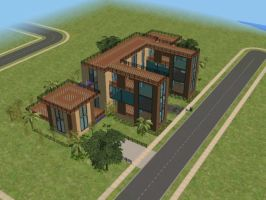 sims 2 house n. 12 p. 2 by PeaceInfinityStars