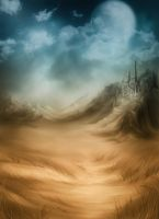 Duotone Fantasy Background by flordelys-stock