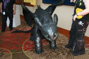 Toothless by InsaneSpyro