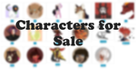 Characters for Sale (OPEN, OTA) by GenerousRimes