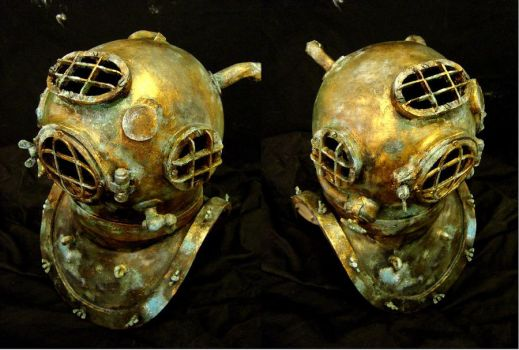 Diving helmet 2 by Ulltotten