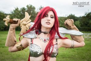 She-Devil with a Sword - Red Sonja by Evejo