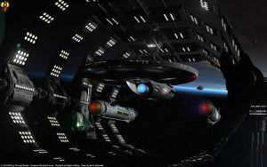 Starfleets first pure warship by Euderion