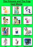 Mlp Princess and The Frog Cast by unicornsmile
