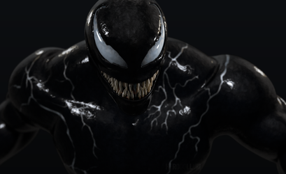 VENOM V2 Wallpaper by HeroGollum