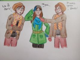 Emily in the middle  by CartoonLover20