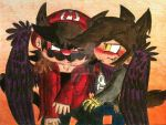 Mario and OCs: MxD - Oh You~ by Mario-Wolfe