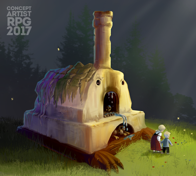 ConceptartistRPG #6: The 'Stone Turtle' by XGingerWR