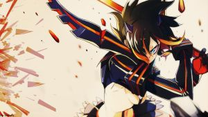 Matoi Ryuuko - Kill la Kill wallpaper by Siimeo