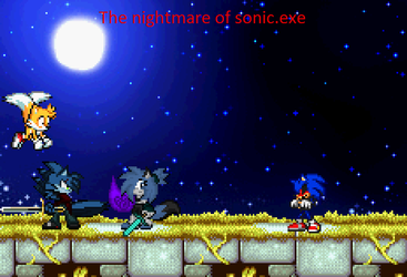 The Nightmare Of Sonic.exe by BluethornWolf