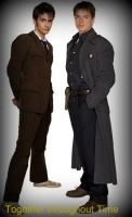 10th Doctor and Jack Harkness by XelwinXVI