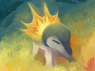 Little Cyndaquil by Swiftalunar