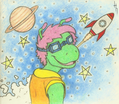 Galactic Zinny by GriffinPhillis