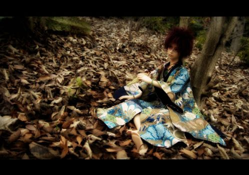 Among the leaves by Revilis