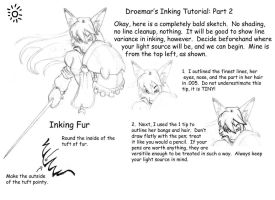Inking Tutorial: Part Two by Droemar