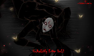 crawling from hell [SKETCHER CREEPYPASTA] by Gravitown