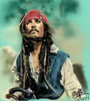 Pirates of the Caribbean - Johnny Depp by chaseroflight