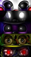 FNAF | ~Extra EyEs~ by Sanity-Paints