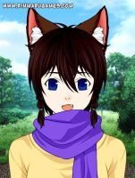 Wolf Children OC by Moku-chan018