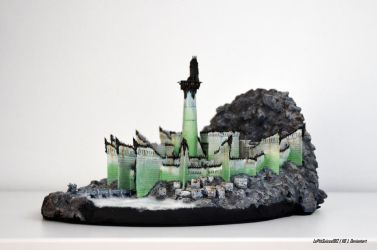 Minas Morgul The Dead City by LePtitSuisse1912