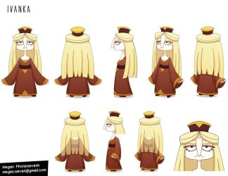 Ivanka - Character Design by Savarama