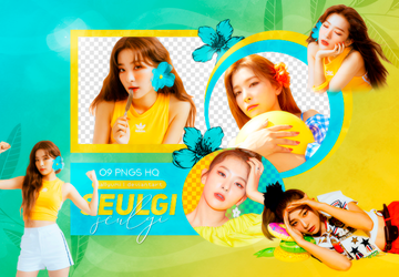 PNG PACK: Seulgi (Summer Magic) by Hallyumi