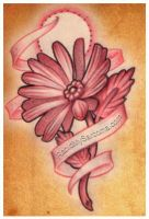 flower tattoo sketch by jacksonmstattoo