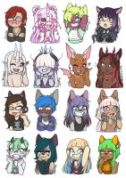 Cheeb Emotes Batch #1 by LunaOfWater