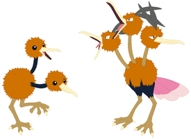 Doduo and Dodrio Base