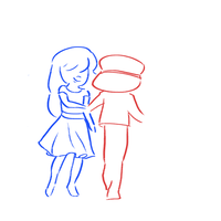 ruby and sapphire (gif) by LyricalLark