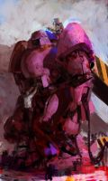 Pink bot by Butjok