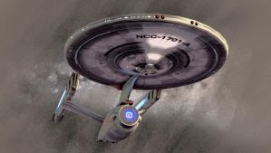 Enterprise Series - NCC-1701-A by thomasthecat
