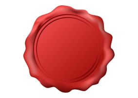 Free-vector-red-wax-seal by superawesomevectors