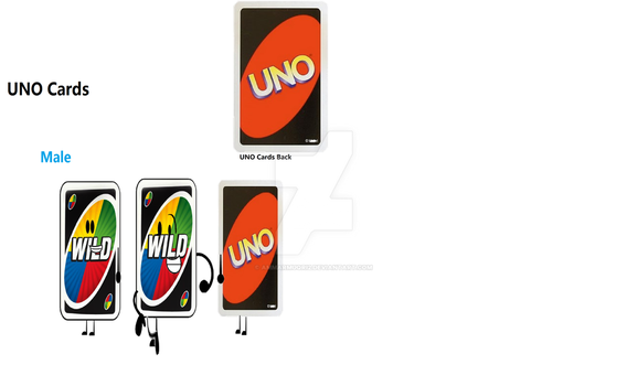 New Object Adventure Character UNO Cards by ammarmuqri2