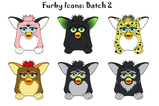 Furby Icons Batch 2 by LuthienNightwolf