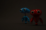 Dylan got a buddy (don't know what to name him)  by RitikRaj-3d